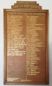 Secretaries and Life Members
