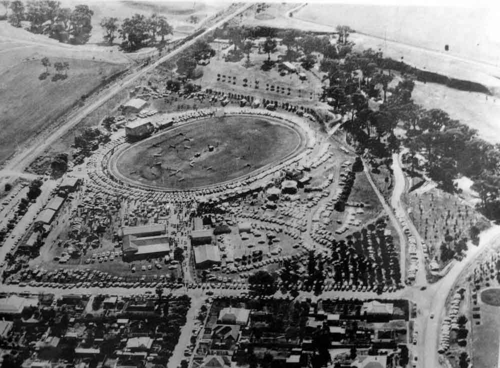 Early picture of show grounds